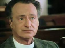 Screenshot from the 1986 'The Murder at the Vicarage' episode of Agatha Christie's Miss Marple (1984-1992) (1) featuring Paul Eddington
