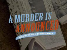 Main title from the 2005 'A Murder Is Announced' episode of Agatha Christie's Marple (2004-2013) (2)