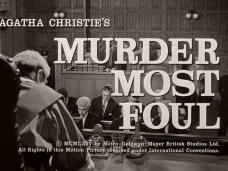 Murder Most Foul (1964) opening credits (5)