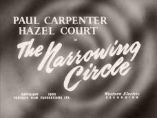 The Narrowing Circle (1956) opening credits (3)