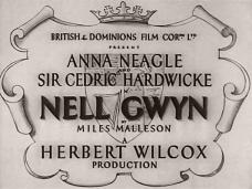 Nell Gwyn (1934) opening credits (2)