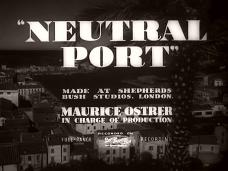 Neutral Port (1940) opening credits (3)