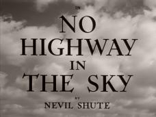 Main title from No Highway (1951) (3). Nevil Shute