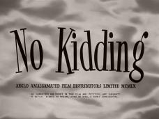 No Kidding (1960) opening credits (4)