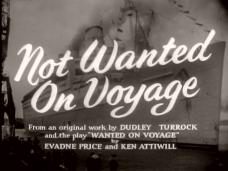 Not Wanted on Voyage (1957) opening credits (5)