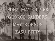 Main title from Nurse Edith Cavell (1939) (6). With Edna May Oliver George Sanders, May Robson, Zasu Pitts