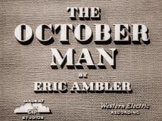 The October Man (1947) opening credits