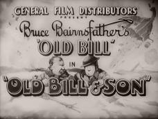 Main title from Old Bill and Son (1941) (5). General Film Distributors presents