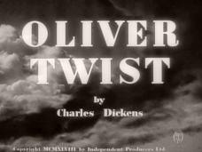 Oliver Twist (1948) opening credits