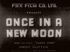 Once in a New Moon (1935) opening credits (1)