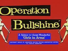 Operation Bullshine (1959) opening credits (2)