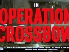 Operation Crossbow (1965) opening credits