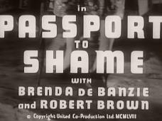 Main title from Passport to Shame (1958) (3)