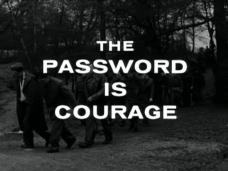 The Password Is Courage (1962) opening credits