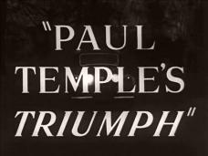 Paul Temple's Triumph (1950) opening credits (3)