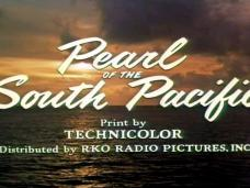 Pearl of the South Pacific (1955) opening credits (6)