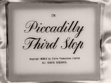 Main title from Piccadilly Third Stop (1960)