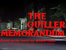 The Quiller Memorandum (1966) opening credits (3)