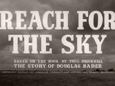 Reach for the Sky (1956) opening credits