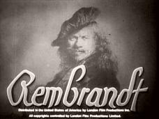 Rembrandt (1936) opening credits (4)