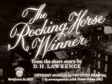 The Rocking Horse Winner (1949) opening credits (3)