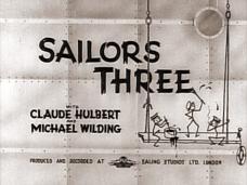 Sailors Three (1940) opening credits
