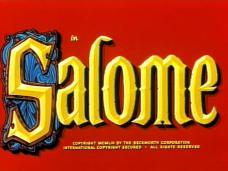 Salome (1953) opening credits
