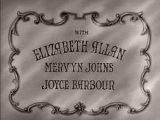 Opening credits from Saloon Bar (1940) (3). Elizabeth Allan, Mervyn Johns, Joyce Barbour