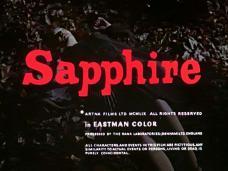 Sapphire (1959) opening credits (4)