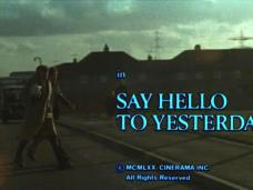 Say Hello to Yesterday (1971) opening credits (4)