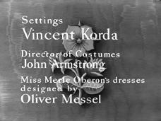 Main title from The Scarlet Pimpernel (1934) (6)