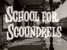 School for Scoundrels (1960) opening credits