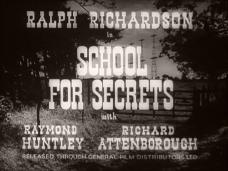 Main title from School for Secrets (1946) (3)