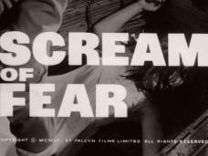 Taste of Fear (1961) opening credits [as Scream of Fear]