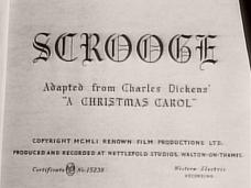 Scrooge opening credits (1951)