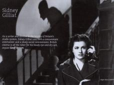 Margaret Lockwood as Anna Bomasch in Night Train to Munich (1940) in the BFI's promotional booklet for its 2008 Sidney Gilliat season.  Page reads: 'As a writer and director in the heyday of Britain's studio system Sidney Gilliat was both a consummate entertainer and a sharp social commentator.  British cinema is all the richer for his beady eye and dry wit argues Geoff Brown.'