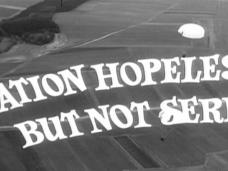 Main title from Situation Hopeless – But Not Serious (1965) (3)