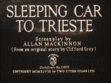 Main title from Sleeping Car to Trieste (1948)