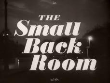 The Small Back Room (1949) opening credits (6)