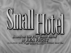 Small Hotel (1957) opening credits (3)
