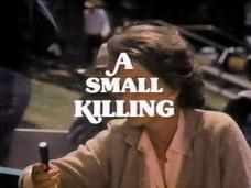 A Small Killing (1981) opening credits (3)
