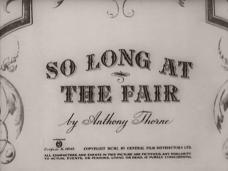 So Long at the Fair (1950) opening credits (4)