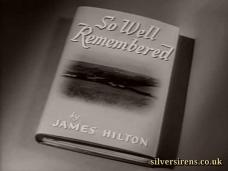 So Well Remembered (1947) opening credits