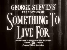 Something to Live For (1952) opening credits (3)