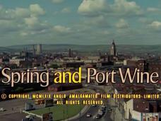 Spring and Port Wine (1970) opening credits (3)