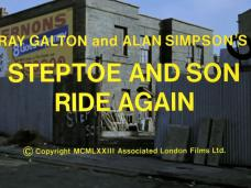 Steptoe and Son Ride Again (1973) opening credits (4)