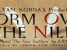 Main title from Storm Over the Nile (1955) (3). Zoltan Korda's production. From the novel 'The Four Feathers' by A E W Mason. Copyright MCMLV by London Film Productions Limited