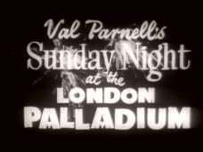 Main title from the season 3, episode 30 episode of Val Parnell's Sunday Night at the London Palladium (1955-67) (2)