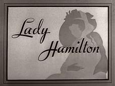 Main title from That Hamilton Woman (1941) (3).  British title 'Lady Hamilton'