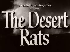 The Desert Rats (1953) opening credits